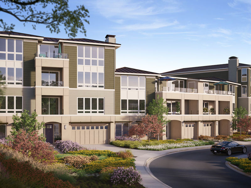 ... Shea Homes® To Build 60 Flats And Townhomes On The Bay With  Breathtaking Views Of ...