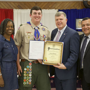 New Eagle Scout Oversees Beautification Effort in Lindenhurst