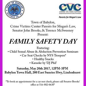 Town of Babylon to Host 'Family Safety Day' This Saturday