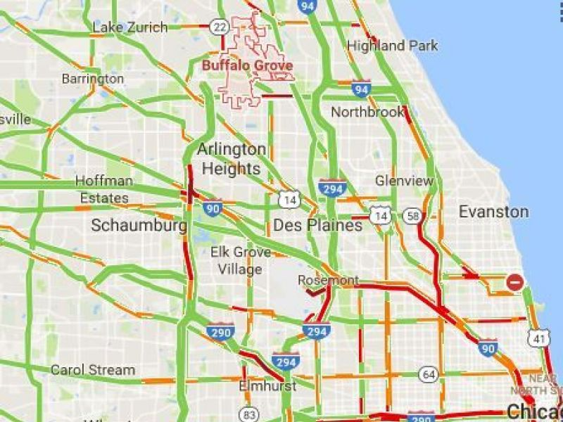 Tollway Illinois Map.Construction Alerts From The Illinois Tollway Authority Buffalo