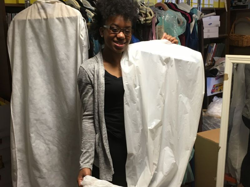 A Win-Win Prom Dress Project at Yorktown High School   Yorktown, NY ...