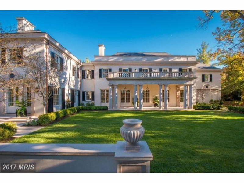 The 3 biggest houses in dc for sale right now washington for Dc home for sale