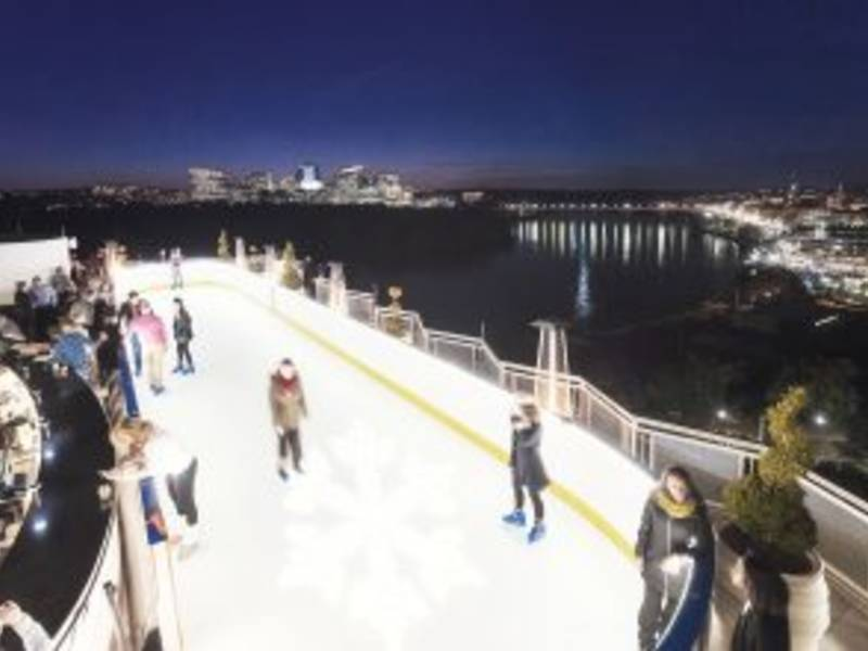 Rooftop Ice Rink Opens Atop Watergate Hotel Patch