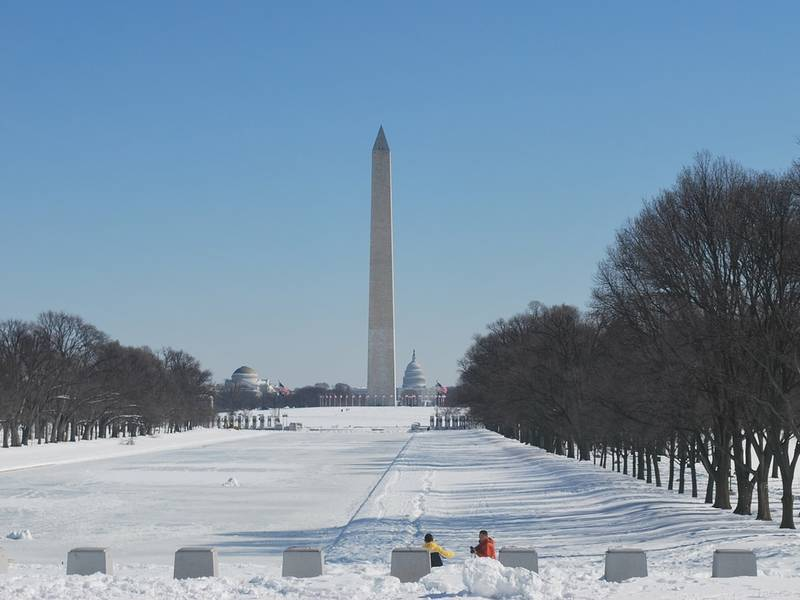 20 Inches Of Snow Possible In Dc Area Report