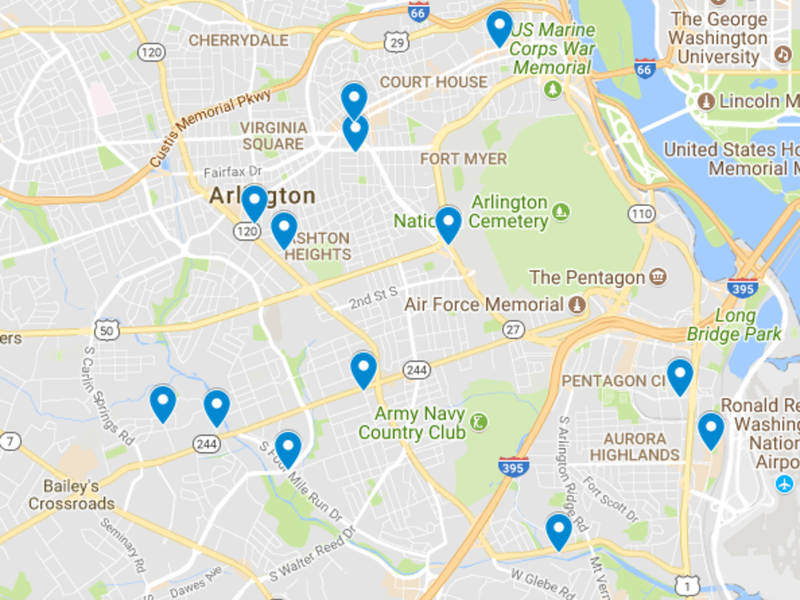 Disorderly Conduct In Crystal City Arlington Major Crimes Map
