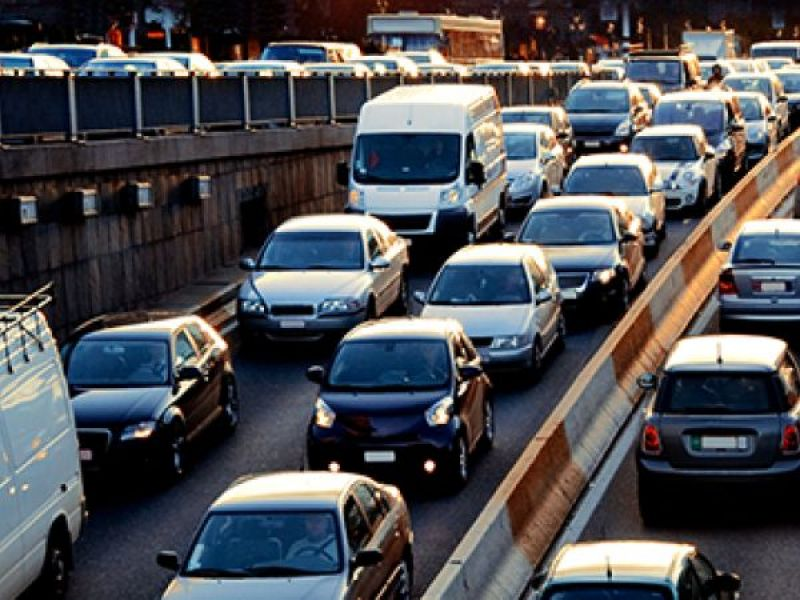 Mass  Pike Traffic Shifts Announced at Weston Interchange