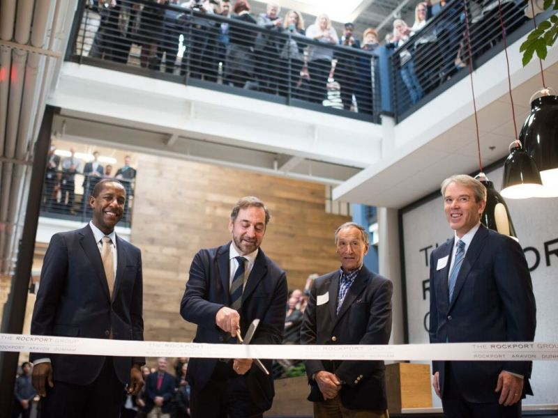 ... PHOTOS: The Rockport Group Opens Global Headquarters in West Newton-0  ...