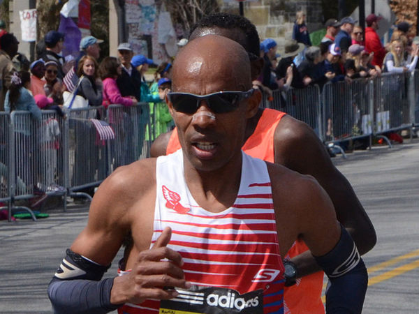 Evans runs marathon for 1st time since bombings
