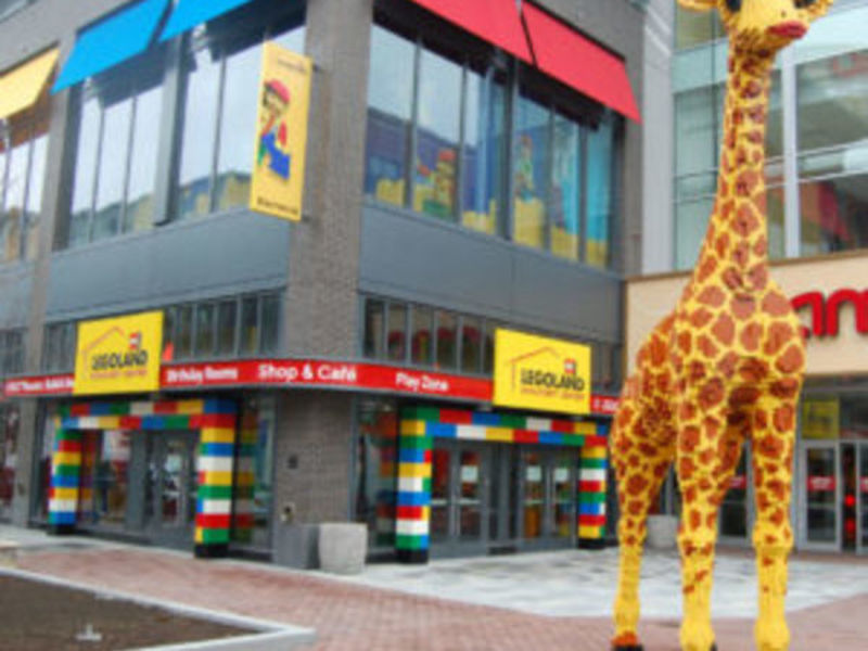 Lego Giraffe To Be Renamed Gio At Official Assembly Row Ceremony ...