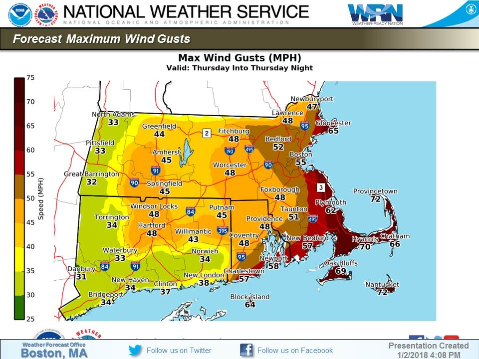 MA Blizzard Bomb Cyclone Expected Updated Snow Totals Boston - Snowfall totals massachusetts