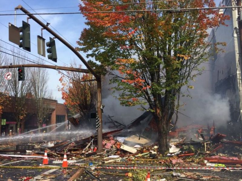 Portland Gas Explosion Company Says it Was Their