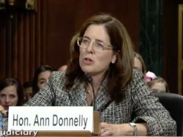 The Judge Who Halted Trump's Immigration Order: Who Is Ann Donnelly?