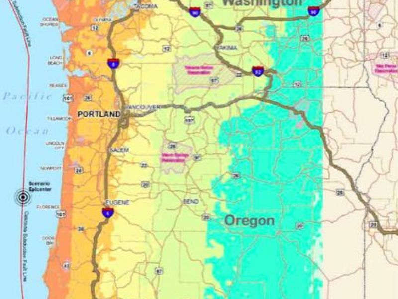 Cascadia Earthquake Report Says We 39 Re Not Ready For What 39 S Coming Portland Or Patch