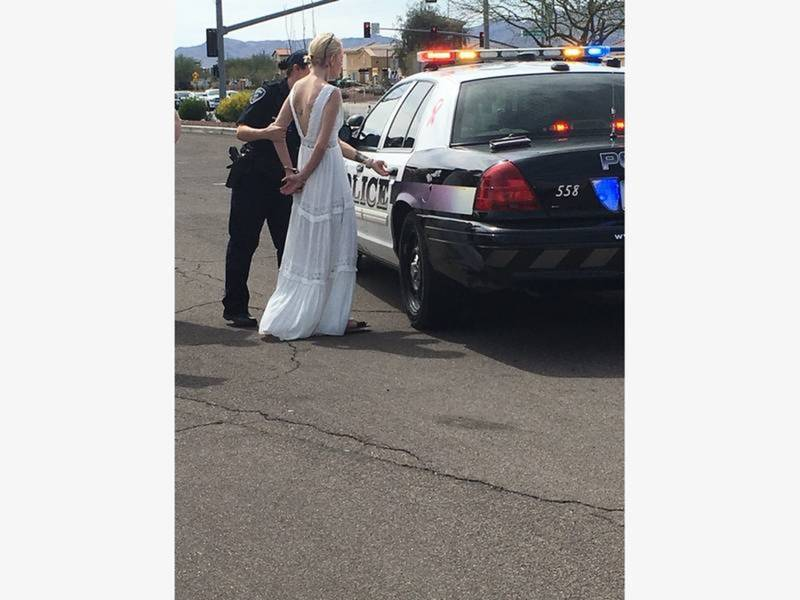DUI Bride: Marana Police Release Report On Amber Young Arrest