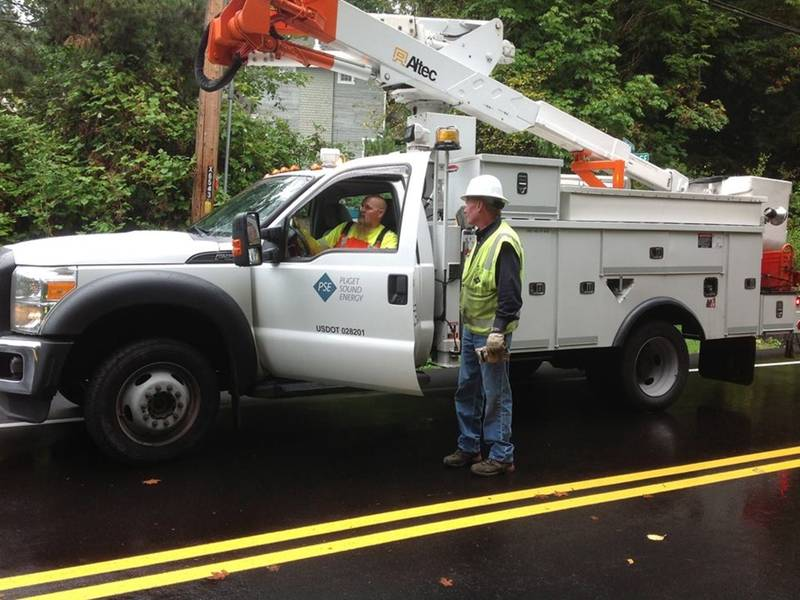 puget sound energy outage