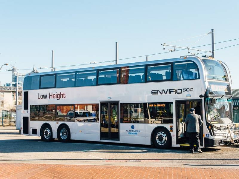 Trimets New Double Decker Bus Rolls Into Action For Wes Riders