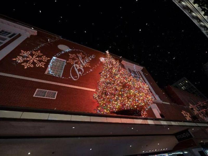 macys tree lighting santa sightings and more downtown boston black friday - Black Friday Christmas Lights