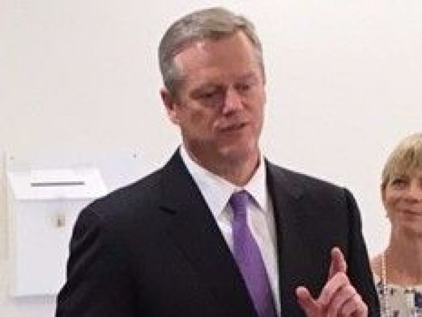 Governor Charlie Baker Discusses Veto of Pay Increase Legislation