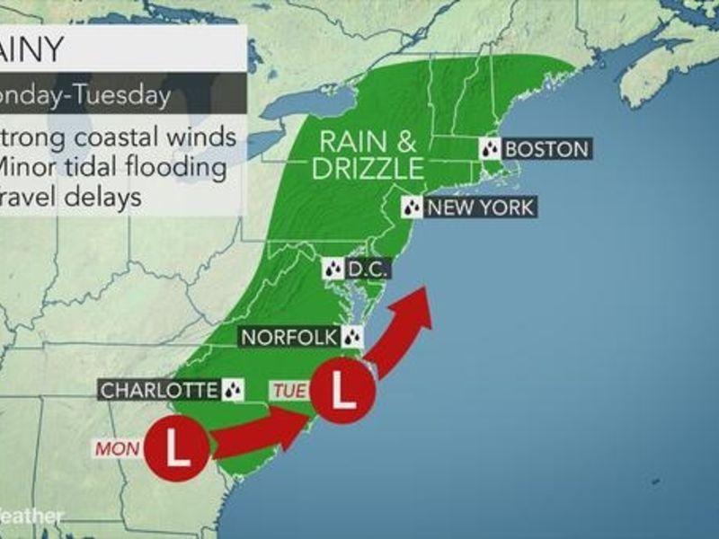 East Hampton-Portland\'s Rainy Work Week Weather Forecast | East ...