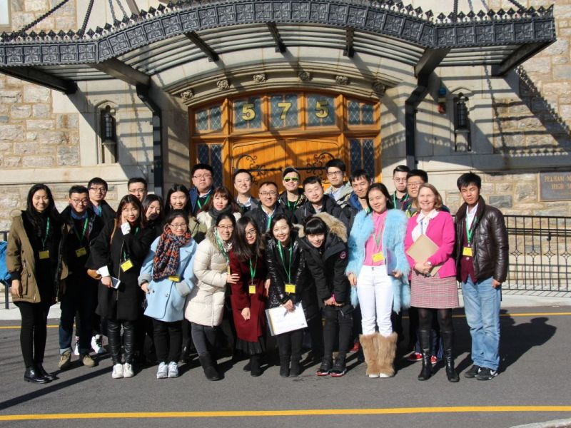 Teachers From Beijing Visit Pelham Memorial High School Pelham Ny Patch