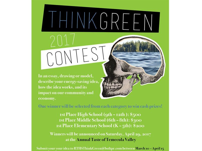 Temecula Students Invited To Participate In Energy Conservation  Temecula Students Invited To Participate In Energy Conservation Contest