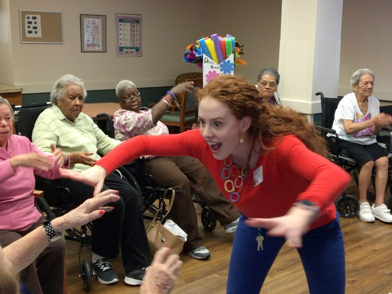 Stormy Weather For Public Libraries And >> Dance Therapy Takes Off at United Hebrew of New Rochelle | New Rochelle, NY Patch