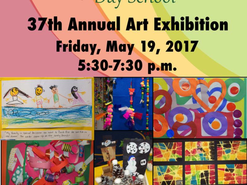 Invitation for art exhibition