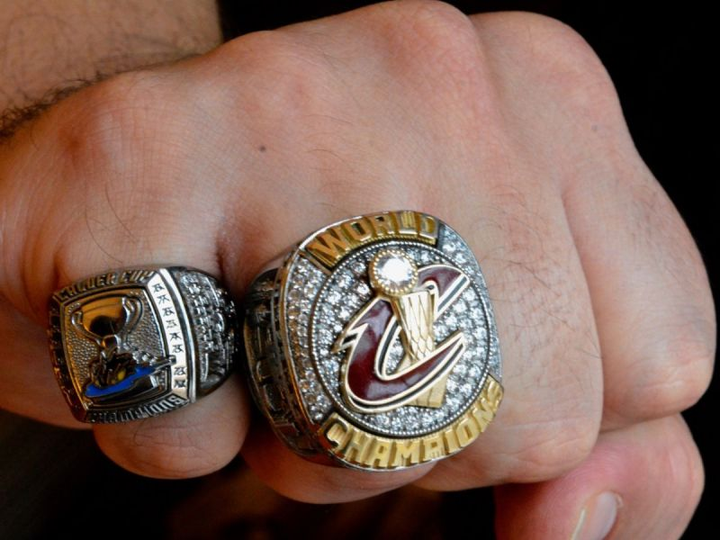 Cleveland Cavaliers Employees Get Their Championship Bling Photos