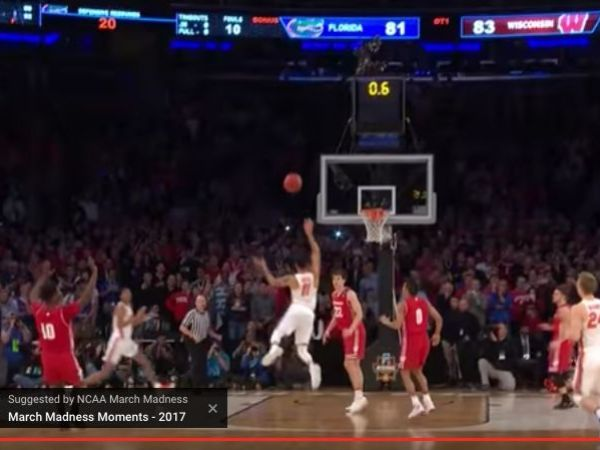 Ncaa March Madness Watch Badgers Fall To Gators In O T