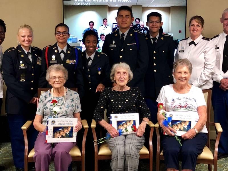 Cadets Honor Female Veterans; No Shopping Carts; More Local News
