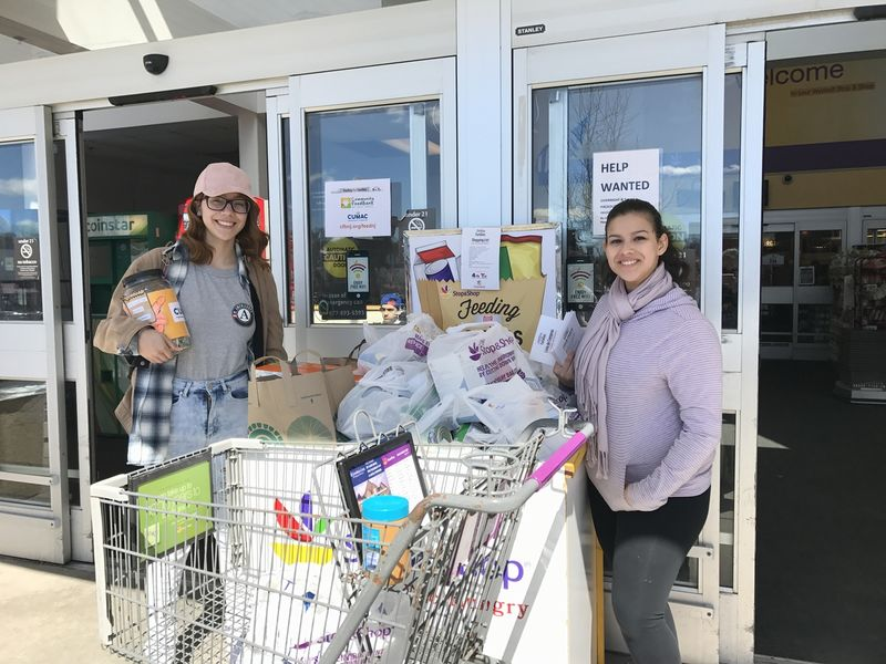 Nbc 4 new york telemundo 47 stop shop team up to support the community foodbank of new for Stop and shop springfield gardens