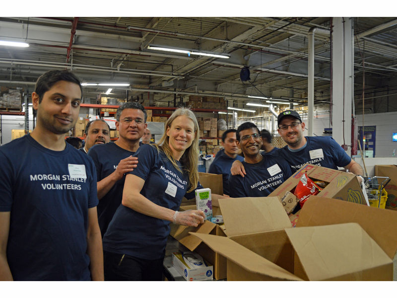 Community Foodbank Of New Jersey Receives Morgan Stanley