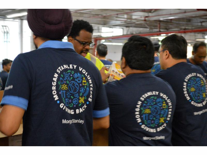 Community Foodbank Of New Jersey Receives Morgan Stanley
