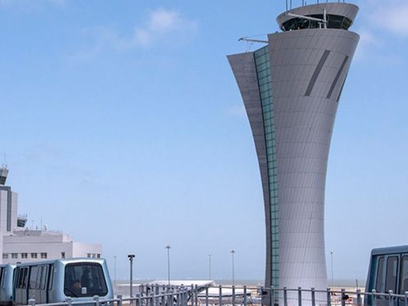 Sfo Dedicates Sleek New Air Traffic Control Tower Palo