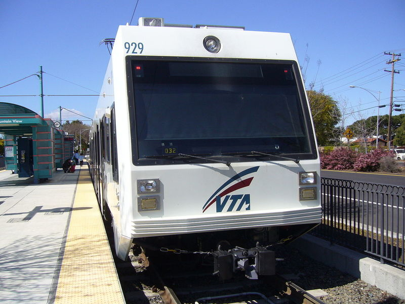Car Struck By Light Rail In Second VTA Incident Friday