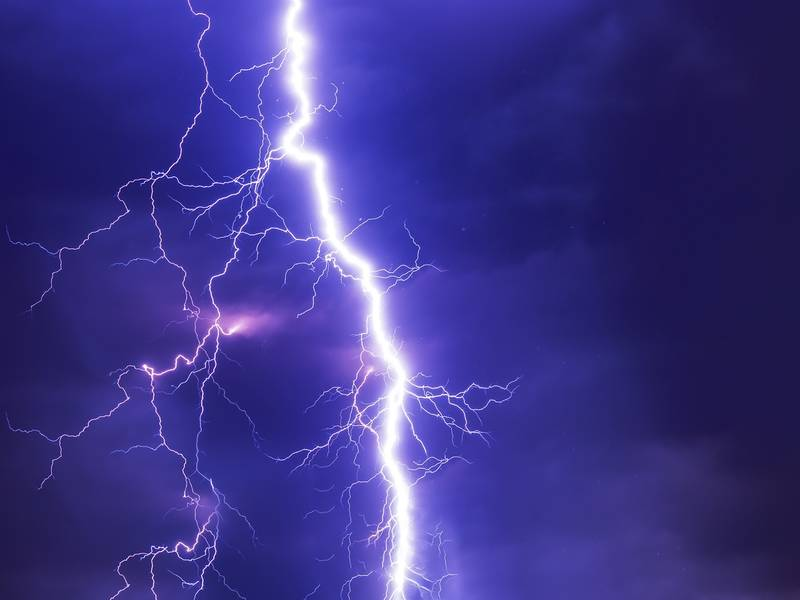 Lightning Strikes Santa Rosa Pole Knocking Out Power Rohnert Park Ca Patch