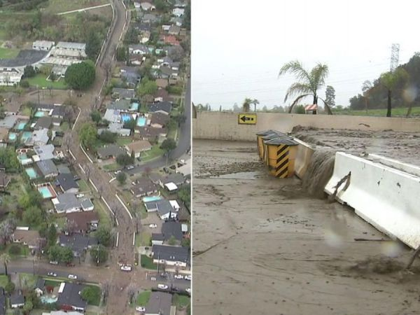 Flooding, mudslide threat prompts evacuations in Sand Canyon burn areas