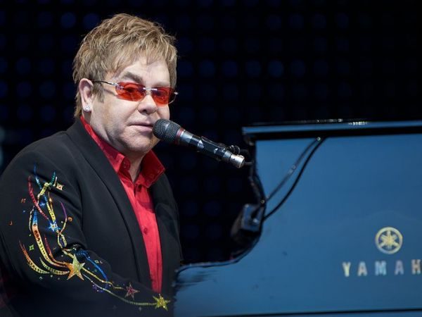 Elton John introduces