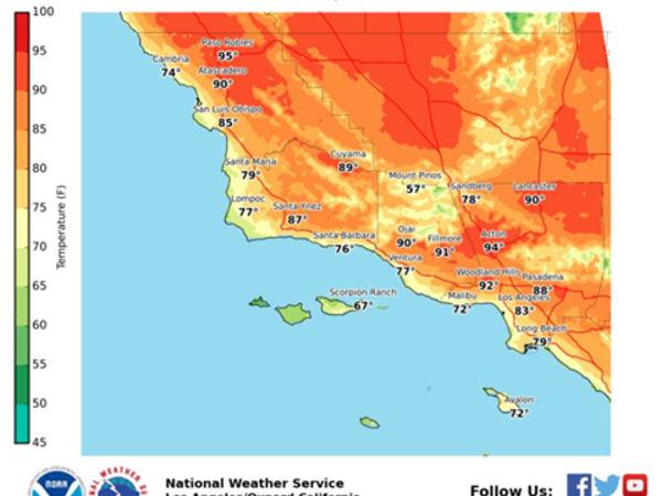 Heat Wave Continues In Santa Monica; Cool Down Ahead - Studio City ...
