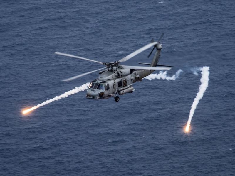 Navy Helicopter Crash Near Guam San Diego Based Crew Reported Safe