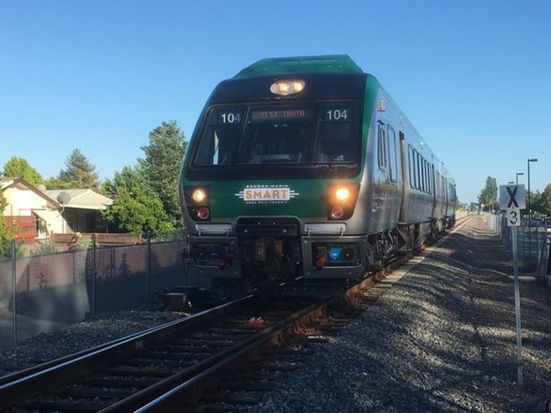 Smart Train Ready To Roll Between Marin Sonoma Aug 25