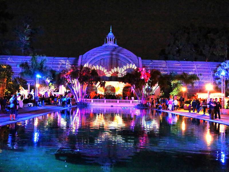 december nights kicks off at san diegos balboa park - Balboa Park Christmas Lights