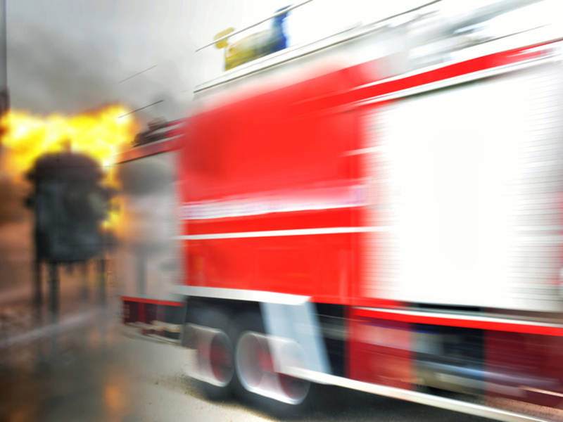 Apartment Fire Triggers Evacuations In Palm Springs