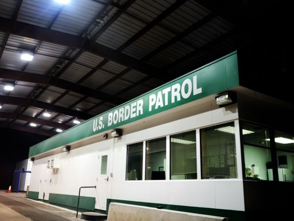 Image result for semi truck border patrol