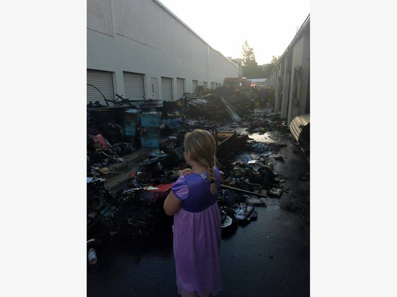 ... Temecula Fire Devastates Storage Facility, But Crews Stop Spread 0 ...