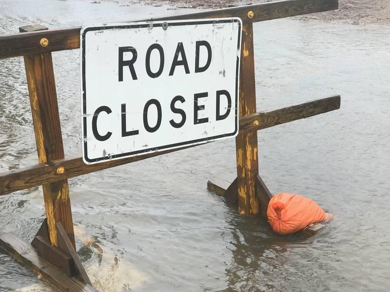 Floods Close Desert Roads Overnight, Prompt Evacuations