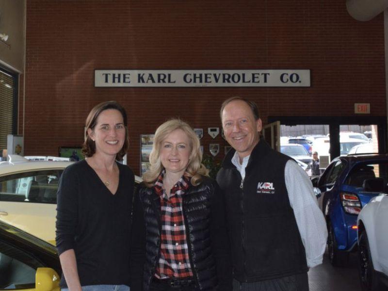 Karl Chevrolet Sponsors Blue Color Station At Nc Color Run
