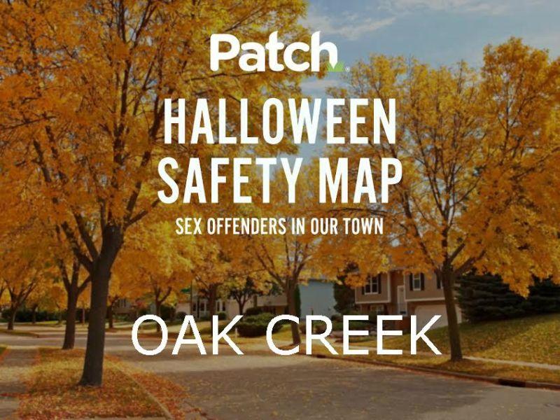 Oak Creek 2016 Halloween Sex Offender Interactive Safety Map Oak