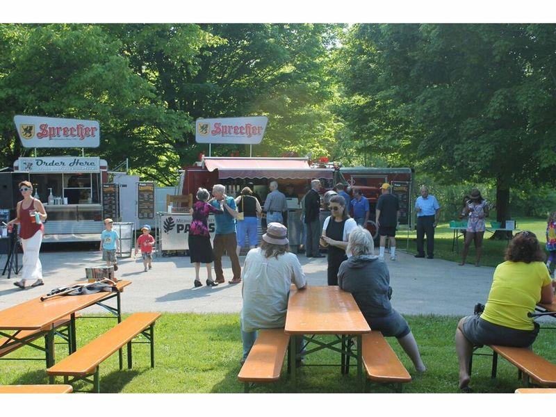 Traveling Beer Garden moves to Kletzsch Park, Keg Tapping Set for ...