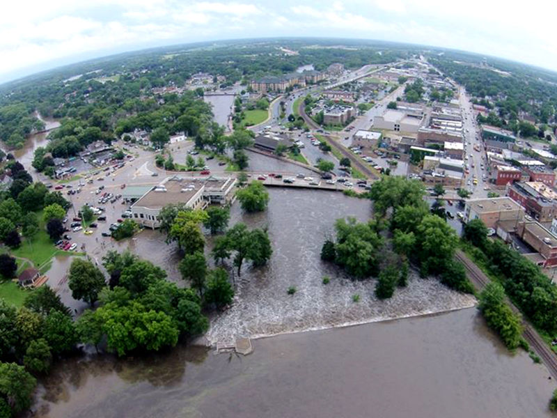 Wisconsin Flooding State Of Emergency Declared Mount